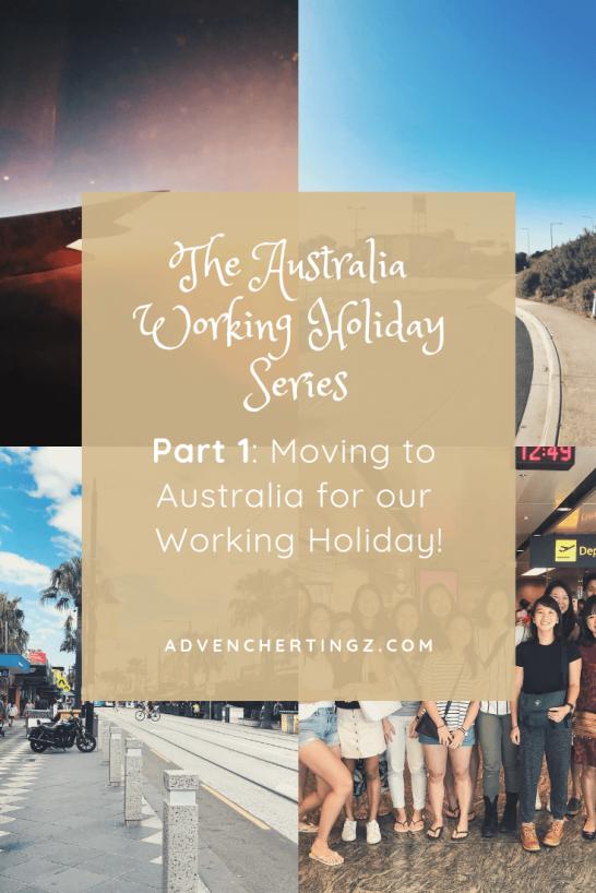 Australia Working Holiday Part 1-min