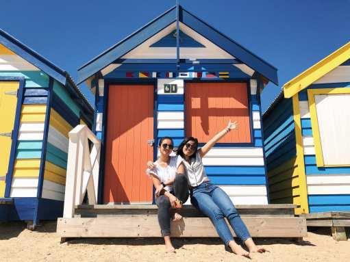 Us at Brighton Beach!